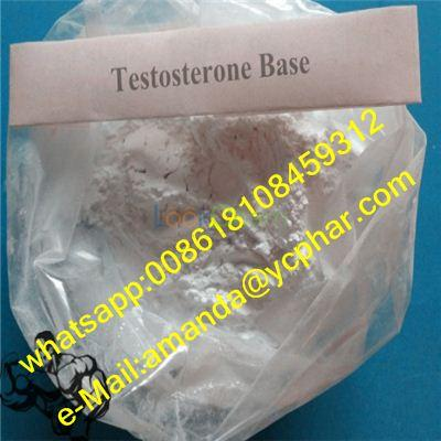 Testosterones Base CAS 58-22-0 Manufacturer