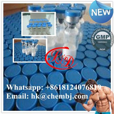 Bodybuilding Peptide Tesamorelin 2mg/vail CAS 218949-48-5  Supper Supplement Raw Powder for Strength Gaining and Weight Loss