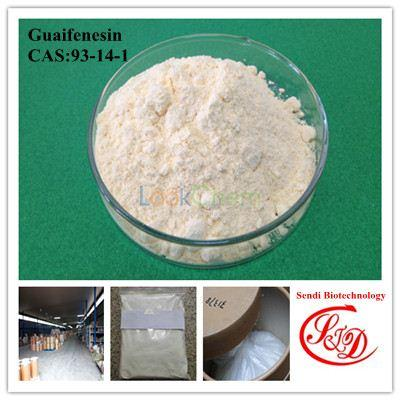 99.5% Top Quality Functional APIs Guaifenesin Best Raw Powder Dosage