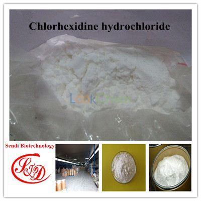 China Supply 98%min Fungicide Raw Powder Chlorhexidine Hydrochloride Best APIs