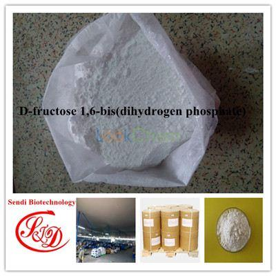 Factory Supply 98%min D-fructose 1,6-bis(dihydrogen phosphate) Raw Powder APIs