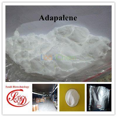 99.5% EP Standard Retinoic Acid Adapalene Raw Powder Functional APIs