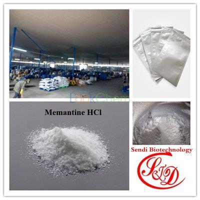 China Supply Best Raw Powder Memantine HCl Alzheimer's Disease Treatment
