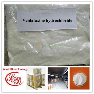 99% Top Quality USP Antidepressant Agent Venlafaxine Hydrochloride Raw Powder APIs