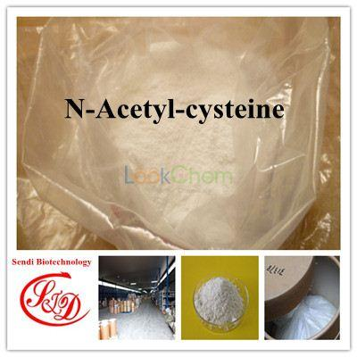 99% Bulk Price Expectorant Agent N-Acetyl-cysteine Raw Powder Functional APIs