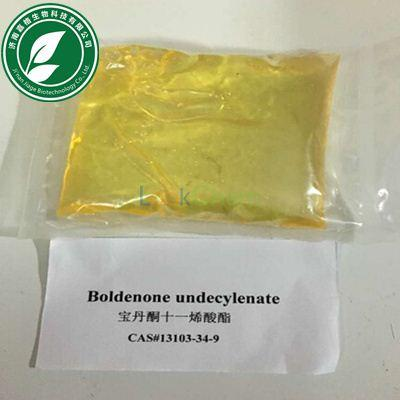 99% Yellow Steroid Hormone Liquid Boldenone Undecylenate For Fat Loss