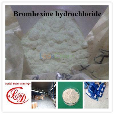 BP 99.8% Bulk Price Expectorant Drug Bromhexine Hydrochloride Raw Powder APIs