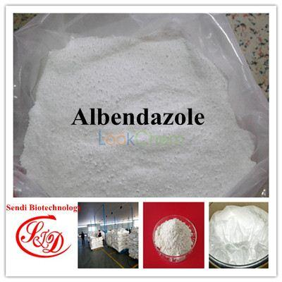 98.5%min Broad-spectrum Insect Repellant Albendazole Raw Powder Functional APIs