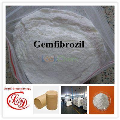 USP Standard 99% Cholesterol-lowering Agent Gemfibrozil Raw Powder Functional APIs