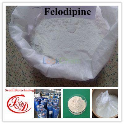 99% Bulk Price Antihypertension Felodipine Raw Powder Functional APIs