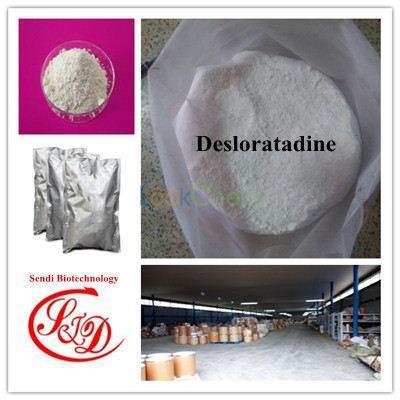 99% Top Quality Antihistamine Raw Powder Desloratadine Best Functional APIs