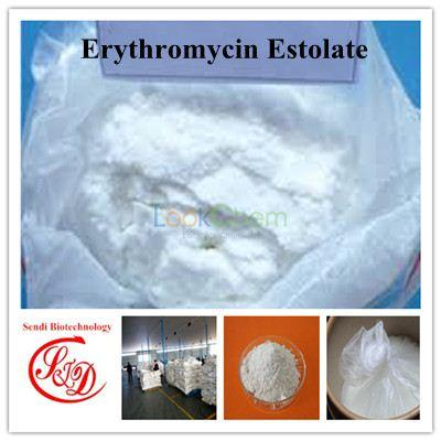 Factory Supply 640% Antimicrobials Erythromycin Estolate Raw Powder Functional APIs