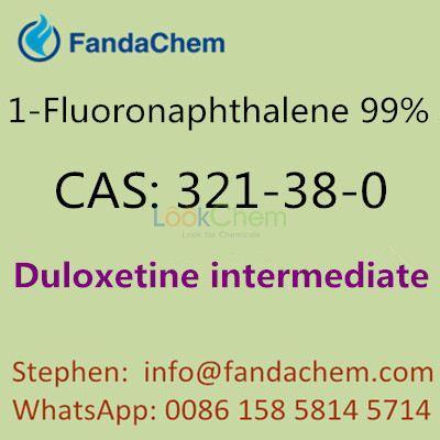 Fluoronaphthalene 99% (1-Fluoronaphthalene, Duloxetine intermediate),cas:321-38-0 from FandaChem