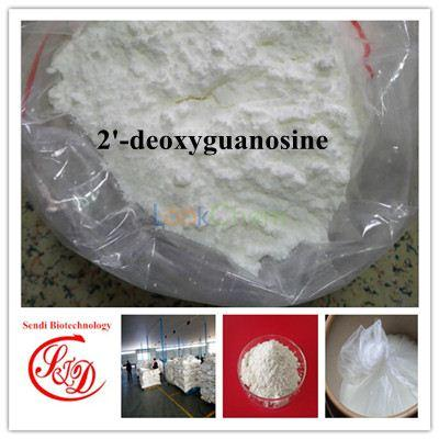 99% Top Quality Antiviral Agent 2'-deoxyguanosine Best Raw Powder Functional APIs