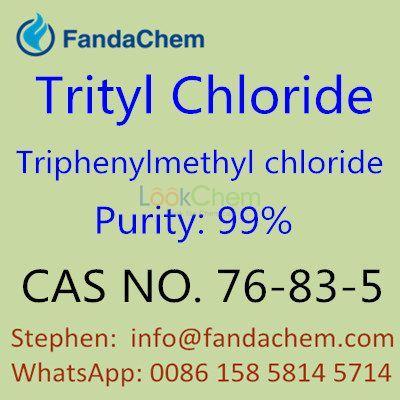 Triphenylmethyl chloride 99%, cas no. 76-83-5