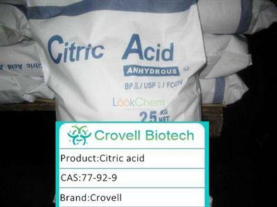 High puality Citric Acid 99.5%min