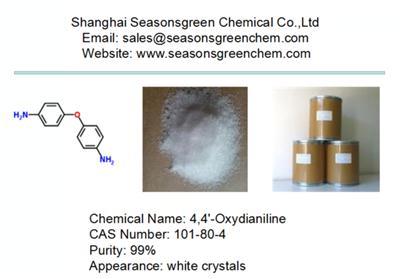 lower price white crystal 4,4'-Oxydianiline CAS 101-80-4