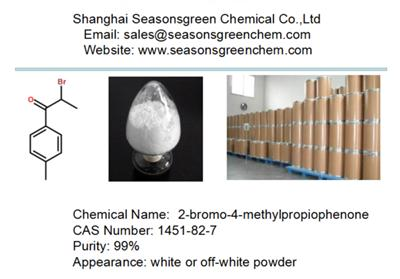 lower price white powder 2-bromo-4-methylpropiophenone CAS 1451-82-7