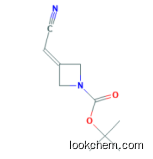 tert-Butyl 3-(cyanomethylene)azetidine-1-carboxylate