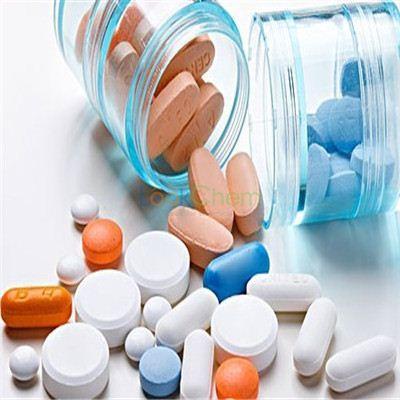 Semi Synthetic Antibiotic Raw Hormone Powders Rifamycin Sodium