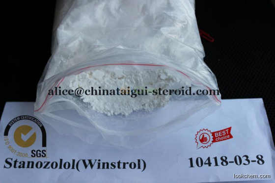 Winstrol / Stanozolol Raw Steroid Powders For Muscle Growth CAS 10418-03-8