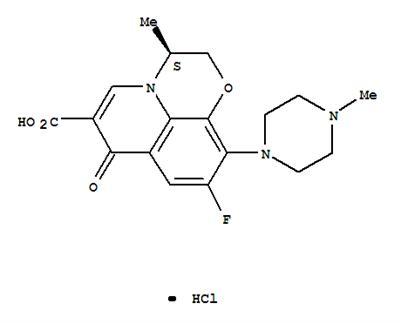 TIANFU-CHEM 177325-13-2 (3S)-9-Fluoro-2,3-dihydro-3-methyl-10-(4-methyl-1-piperazinyl)-7-oxo-7H-pyrido[1,2,3-de]-1,4-benzoxazine-6-carboxylic acid monohydrochloride