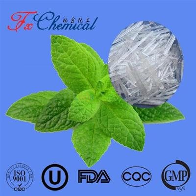 Natural menthol crystals CAS 2216-51-5 of USP/BP/CP standard