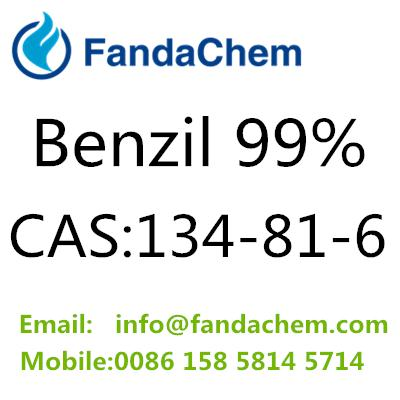 Benzil 99% cas:134-81-6 from fandachem