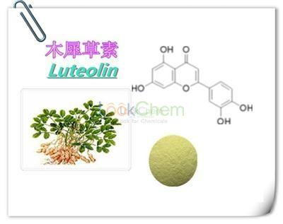 100% Natural Peanut Shell Extract Luteoline CAS NO.491-70-3