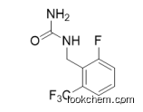 1-(2-fluoro-6-(trifluoromethyl)benzyl)urea