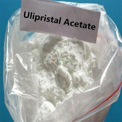 Ulipristal acetate powder for emergency contraception and uterine fibroids