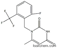 Benzeneacetic acid, 4-fluoro-.alpha.-(1-methylethyl)-, (.alpha.S)-