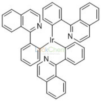 Cas No 435293 93 9iridiumtris2 1 Isoquinolinyl Knphenyl Kc