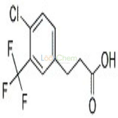 900027-15-8 3-[4-CHLORO-3-(TRIFLUOROMETHYL)PHENYL]PROPIONIC ACID