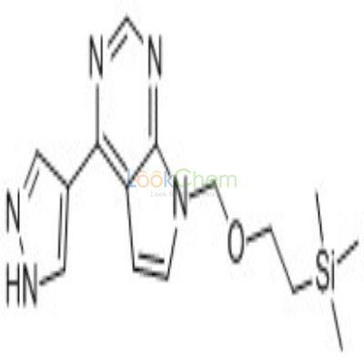 941685-27-4 4-(1H-PYRAZOL-4-YL)-7-((2-(TRIMETHYLSILYL)ETHOXY)METHYL)-7H-PYRROLO[2,3-D]PYRIMIDINE