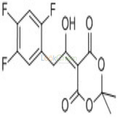 764667-64-3 5-1-hydroxy-2-(2,4,5-trifluorophenyl)ethylidene-2,2-dimethyl-1,3-dioxane-4,6-dione