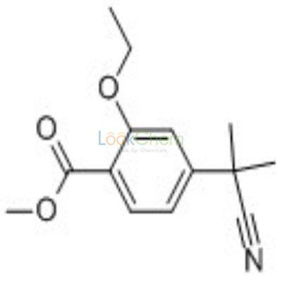 870007-42-4 4-(CYANO-DIMETHYL-METHYL)-2-ETHOXY-BENZOIC ACID METHYL ESTER