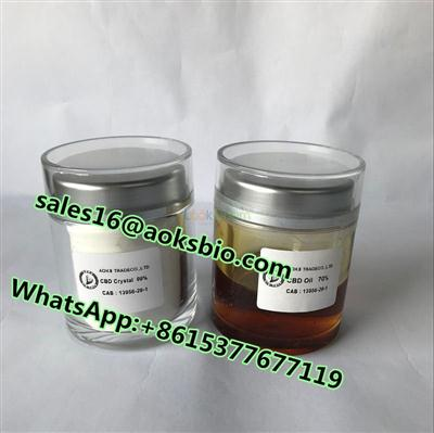 Top quality Cannabidoil CBD oil with best price cas 13956-29-1