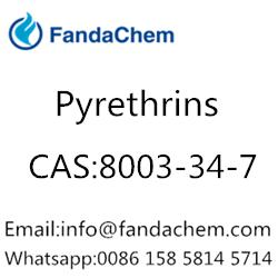 Pyrethrins (Pyrethrum;Pyrethrins and Pyrethroids),CAS:8003-34-7 from fandachem