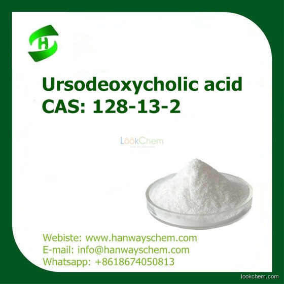 UDCA/Ursodeoxycholic acid  CAS 128-13-2 supply with high purity and factory price(128-13-2)