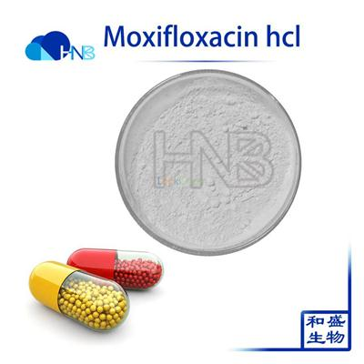 99% medicine grade Moxifloxacin hcl for  anti-infection medicine