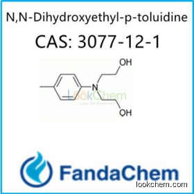 N,N-Dihydroxyethyl-p-toluidine CAS no 3077-12-1 from FandaChem
