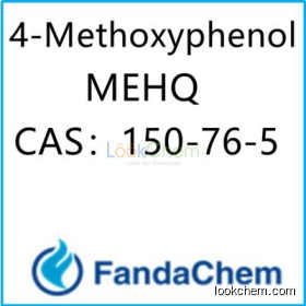 4-Methoxyphenol ( P-Hydroxyanisole ; MEHQ) CAS:150-76-5 from FandaChem