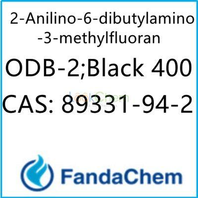 2-Anilino-6-dibutylamino-3-methylfluoran 99.5%; ODB-2;Black 400 Cas : 89331-94-2  from FandaChem