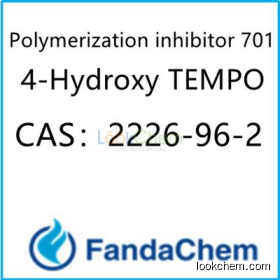 Polymerization inhibitor 701;  4-Hydroxy TEMPO CAS:2226-96-2 from FandaChem
