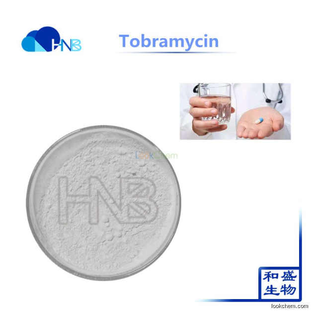 Factory supply Antibiotic API 98% Tobramycin Powder CAS 32986-56-4