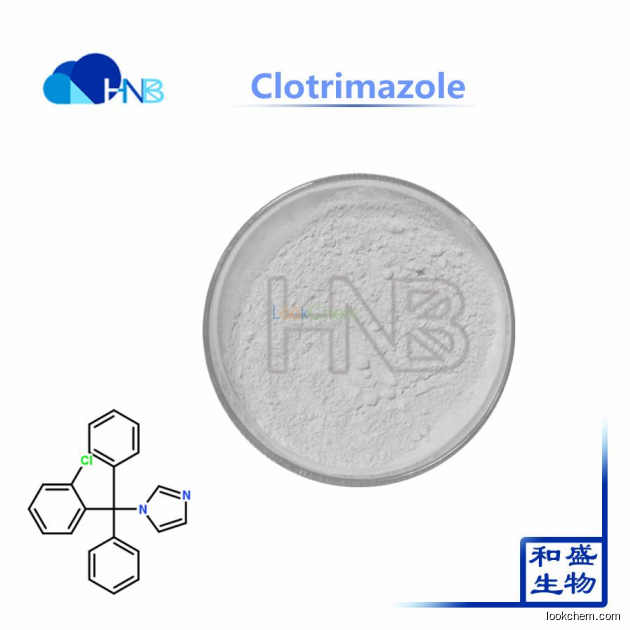 Best quality hot selling 99% Clotrimazole powder