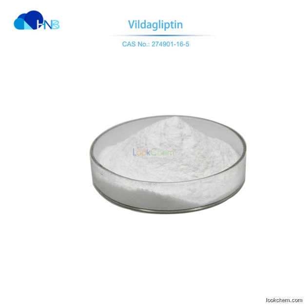 Factory Supply Best Quality API anti-diabetic drug Vildagliptin CAS:274901-16-5