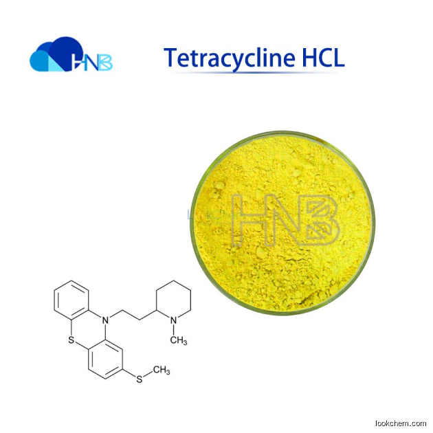High purity Tetracycline hydrochloride CAS:64-75-5 with best price in stock