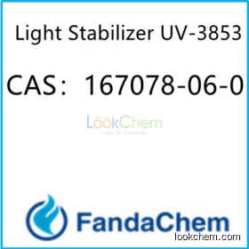 2,2,6,6-Tetramethyl-4-piperidinyl stearate; UV-3853 CAS:167078-06-0  from FandaChem